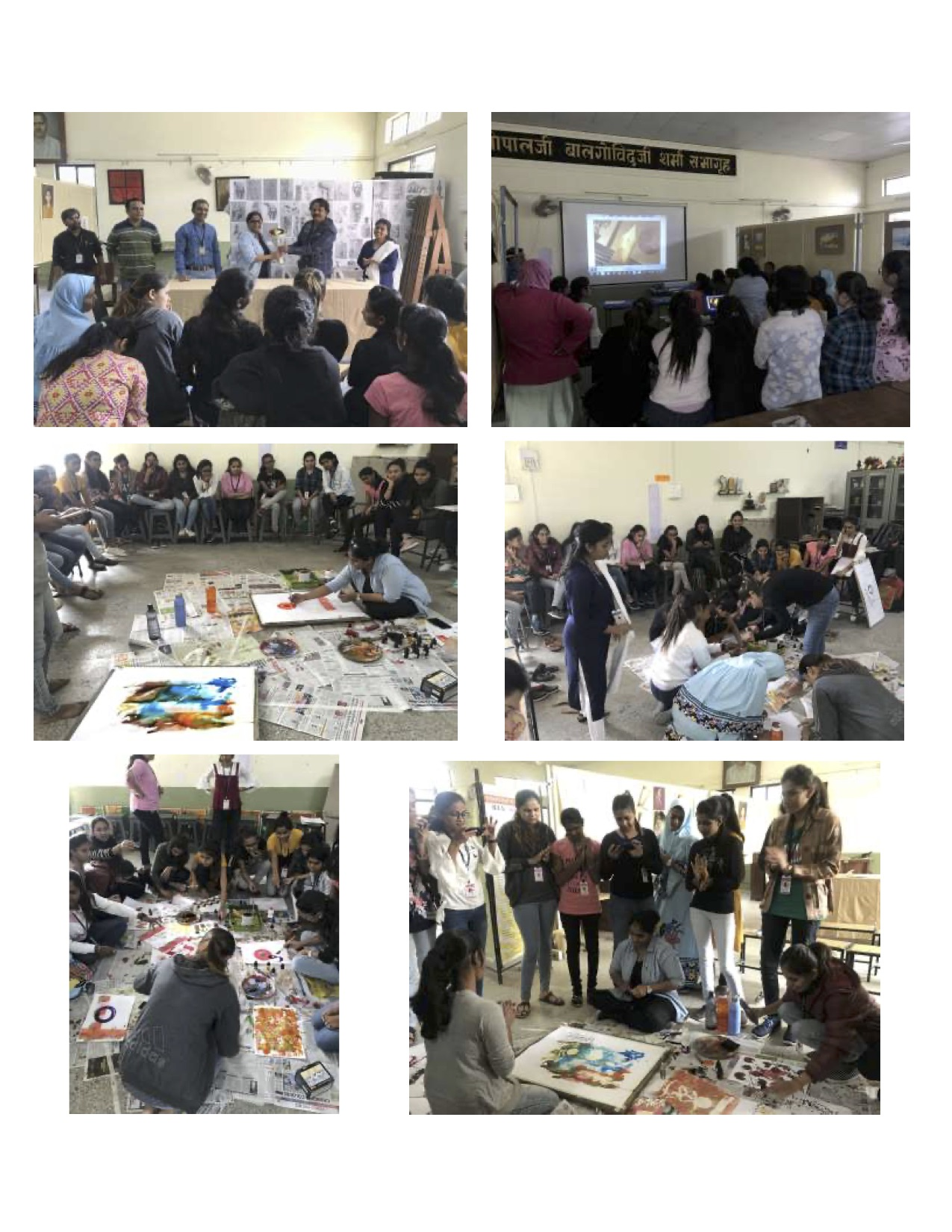 """Workshop on """"Creative Calligrapgy"""""""